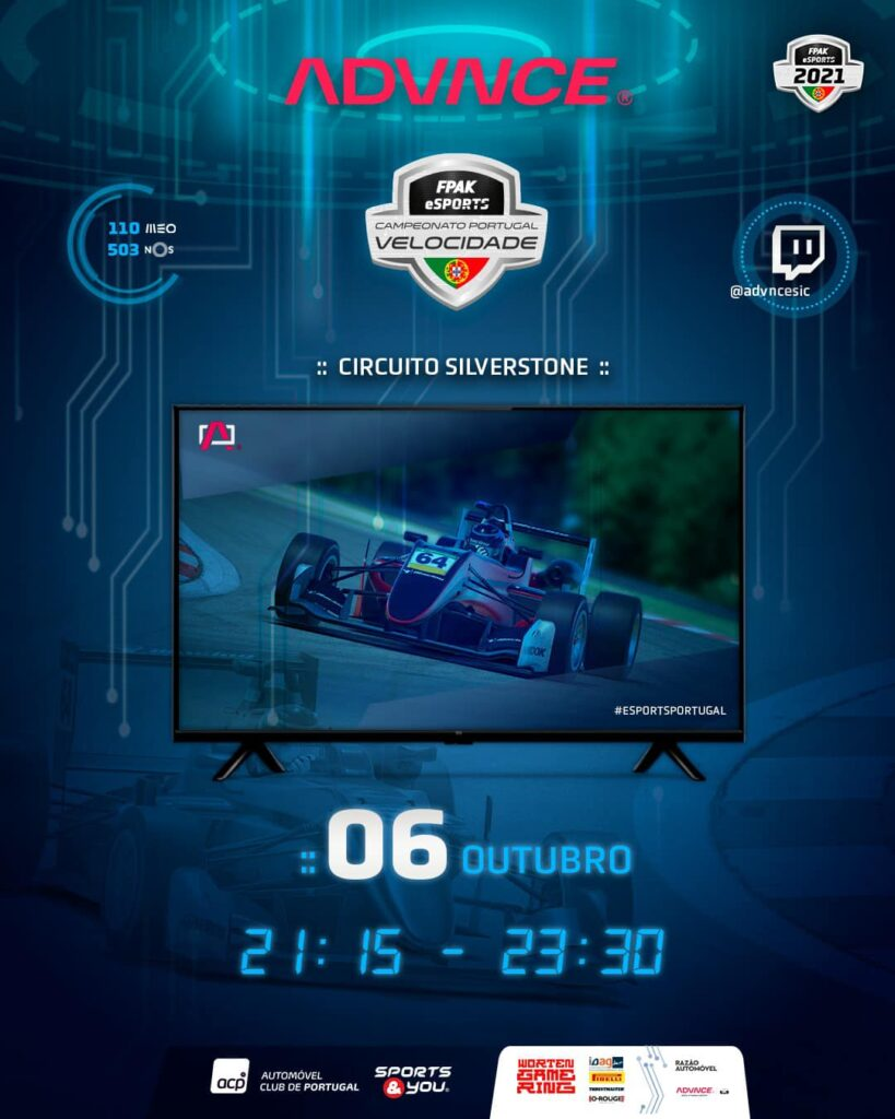 Campeonato de Portugal de Velocidade eSports 2021